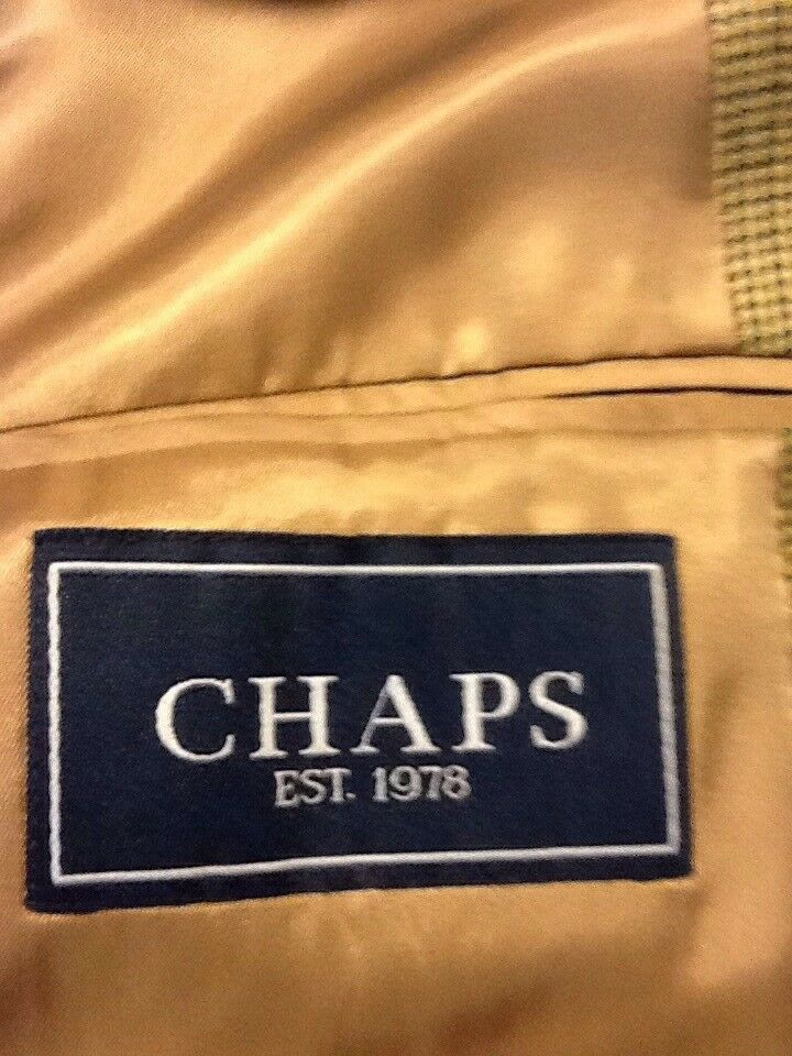 Mens CHAPS multi color sport coat sz 42S - image 5