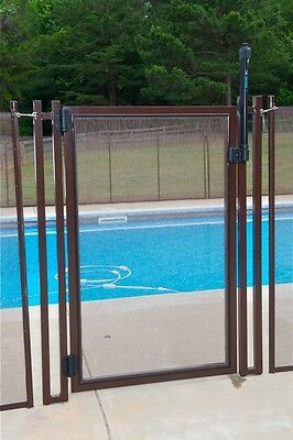 Pool fence gate, enclosures gate, pool barrier gate Self-Closing Self- Locking,