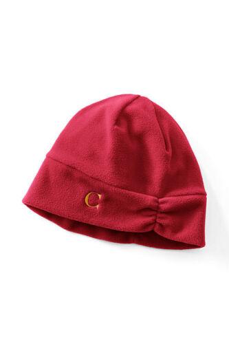 Lands End Women/'s T-100 Fleece Hat New 7 colors