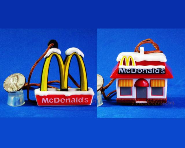 Cake Topper Mcdonald S Figure Statue Cartoon Model Logo Golden Arches M1 M2