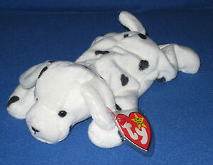 48f519d8de8 TY SPARKY the DALMATIAN BEANIE BABY - MINT with MINT TAGS 8421041008 ...