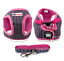 Soft-Cotton-Padded-Step-in-Dog-Harness-amp-Leash-Set-Puppy-Walking-Harness-Vest thumbnail 14