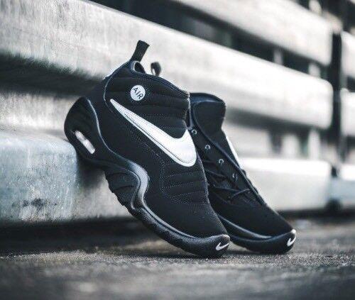 Mens Nike Air Shake NDESTRUKT OG BULLS Black Dennis Rodman UK6EU39 Authentic