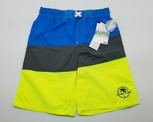 New Dinosaur Kids Boys 2T 3T 4T Sun Protection Inner Brief Swim Shorts Trunks