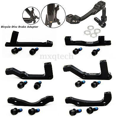 MTB Bicycle Bike Disc Brake Caliper Mount Adaptor Front / Rear IS/POST POST/POST