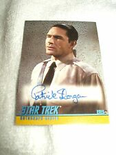 Star Trek Autograph Card Patrick Horgan as Eneg A88