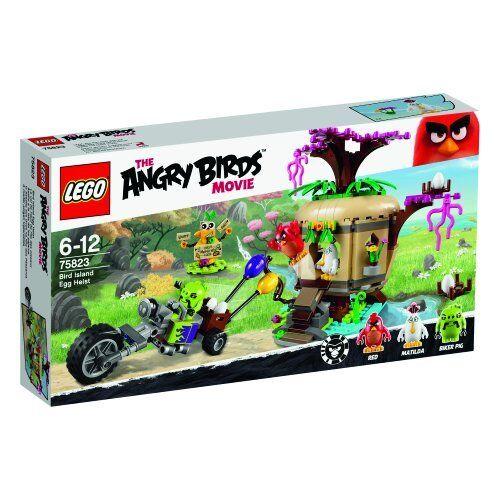 LEGO 75823 EL ENOJADO BIRDS MOVIE LA ROBO DE HUEVOS EN PÁJARO ISLAND NUEVO NEW