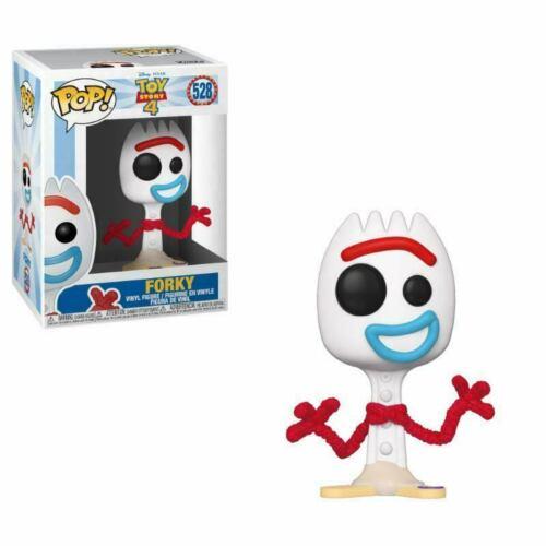 FORKY Toy Story 4 Figure Funko Pop 528 ORIGINALE *