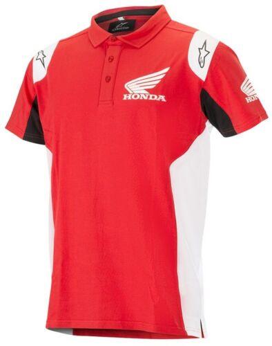 Polo Honda Alpinestars uomo rosso