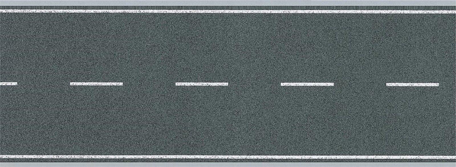1 Meter Straße Asphalt m Linien Heki Folie  Spur N 6562  #E