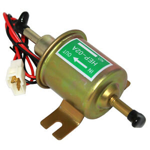 New-Electric-Fuel-Pump-HEP-02A-Low-Pressure-12V-For-Agricultural-ATV-Automotive
