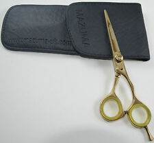 MAZUMA SALON HAIR DRESSING SCISSOR/TITANIUM GOLD MASTER