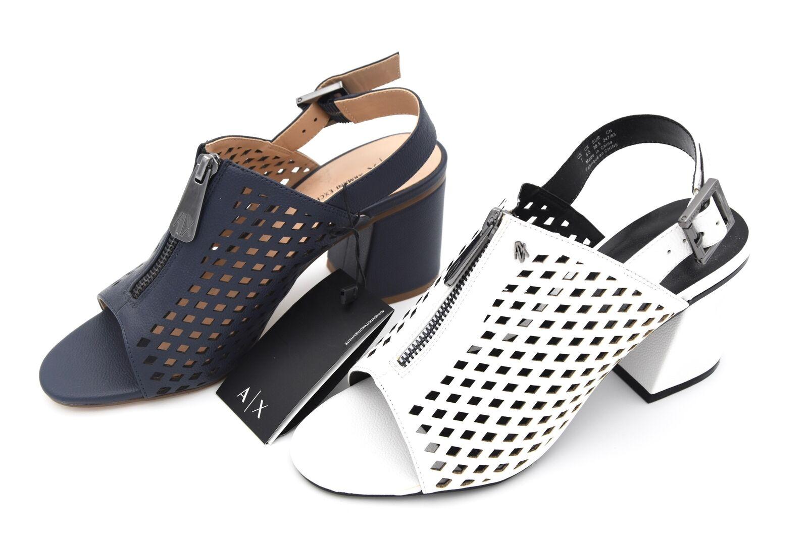 Armani Exchange donna scarpe Sandal  Open Toe Rubber Art.945072 8p458  godendo i tuoi acquisti