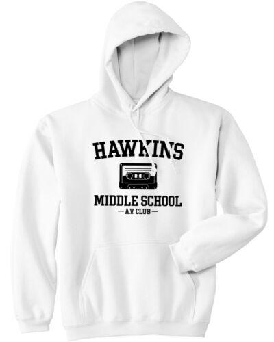 Stranger Things Hoodie Hawkins Middle School AV Club Hoodie