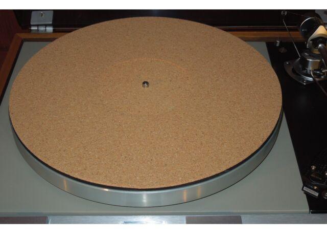 NEW Audiophile Cork Turntable Mat Rega Linn Avid Pro-Ject VPI Music Hall Thorens