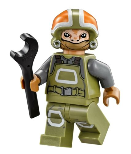 LEGO STAR WARS Resistance Ground Crew MINIFIG brand new from Lego set #75102