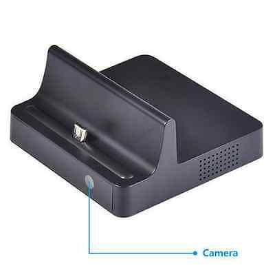 Mini 720P SPY DV HD Hidden Camera Phone Charging Dock Motion Detection Video Cam