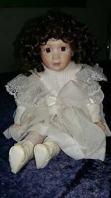 Puppe Mit Porzellankopf Alt B Mullins Fhd 1991 Husten Heilen Und Auswurf Erleichtern Und Heiserkeit Lindern