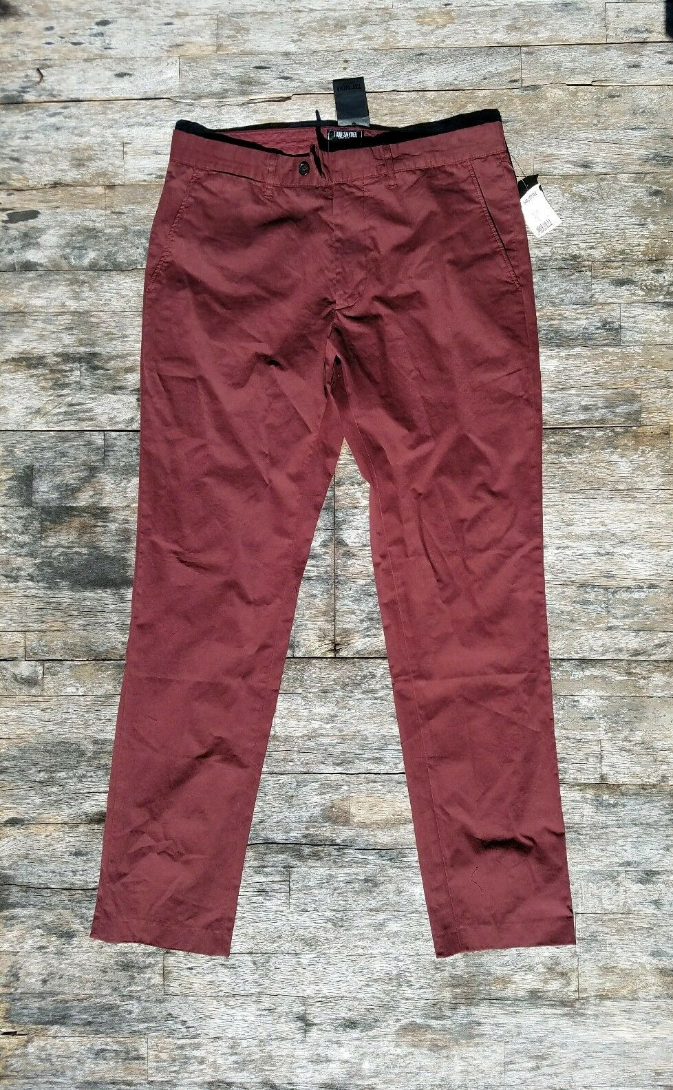 New  TODD SNYDER [31-32] Hudson Tab made in Portugal cotton twill pants