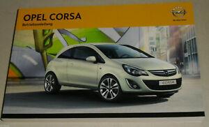 Betriebsanleitung-Handbuch-Opel-Corsa-D-Baujahre-2011-2014