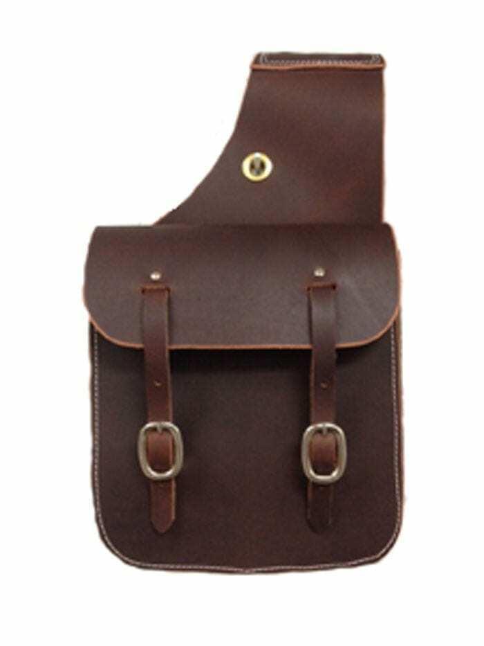 Bolsas de cuero silla caballo occidental Trail Ride bolsa de tamaño 11  X 11  Envío Gratuito