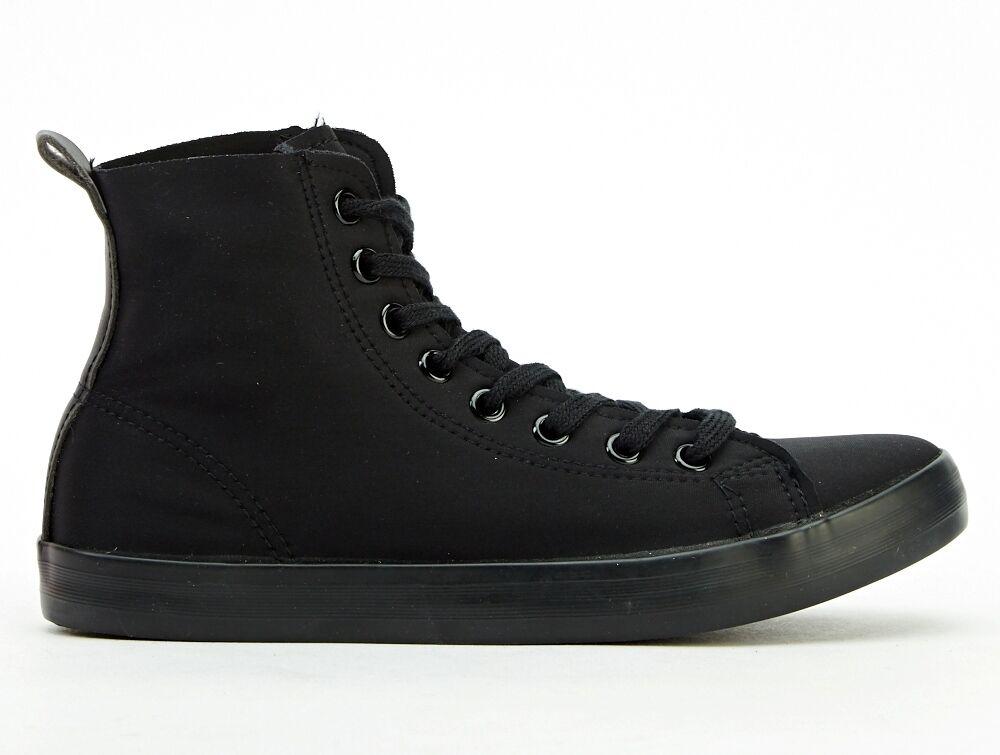 New Bitchin New Black High Top Black Trainers/Bumpe<wbr/>r boots Punk/CosPlay/F<wbr/>esti/