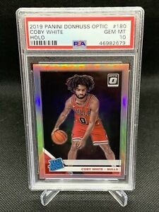 2019-Panini-Optic-Holo-Coby-White-Silver-Prizm-PSA-10-Low-Pop-HOT