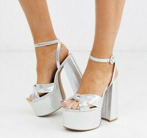wide fit platform sandals