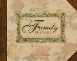Our-Family-History-Record-Book-Photograph-Album-amp-Family-Tree-VERY-GOOD