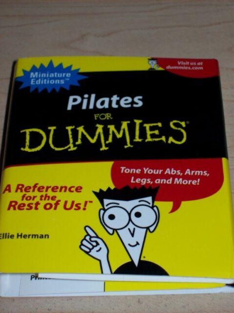 Pilates For Dummies Book Mini Hardcover Exercise Yoga For Sale Online Ebay
