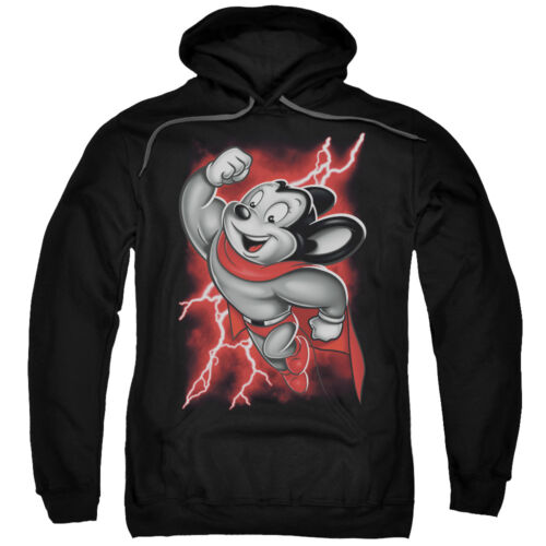 Mighty Mouse MIGHTY STORM Lightning Licensed Sweatshirt Hoodie