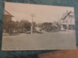 1912 Kiamesha Lake Sullivan County New York NY Catskills Post Card