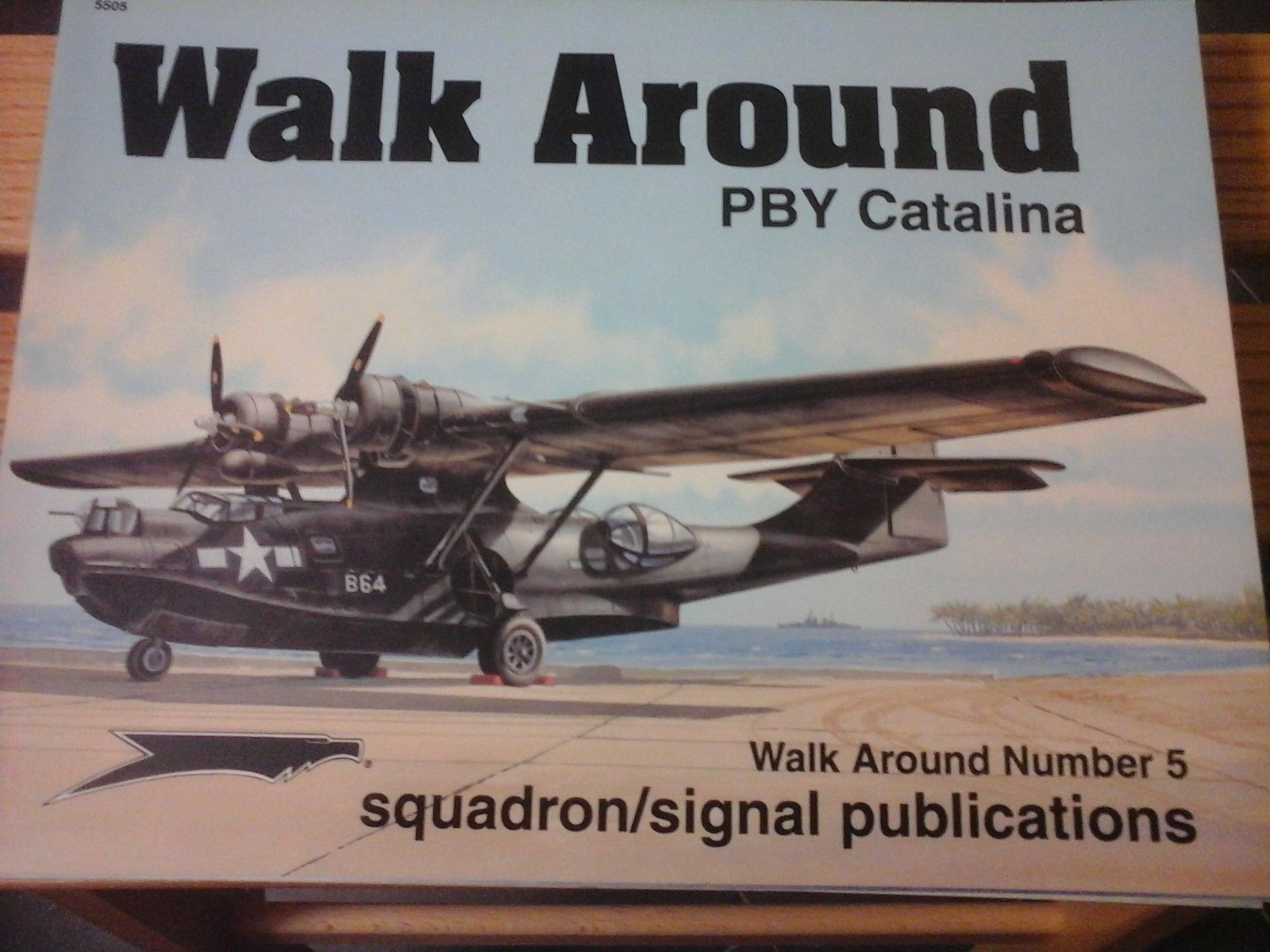 CONSOLIDATED PBY CATALINA-SQUADRON SIGNAL WALK AROUND N.5-BY W.SCARBEROUGH