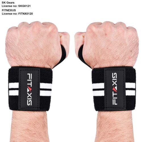 Pro X Haltérophilie Poignet Support Enveloppe Bande Gym bretelles Brace Dynamophilie