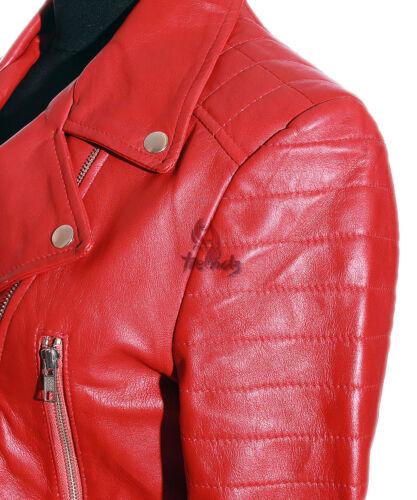 MISSY Stivali in Pelle Da Motociclista Blazer corto cappotto Bolero Giacca in Pelle Blu