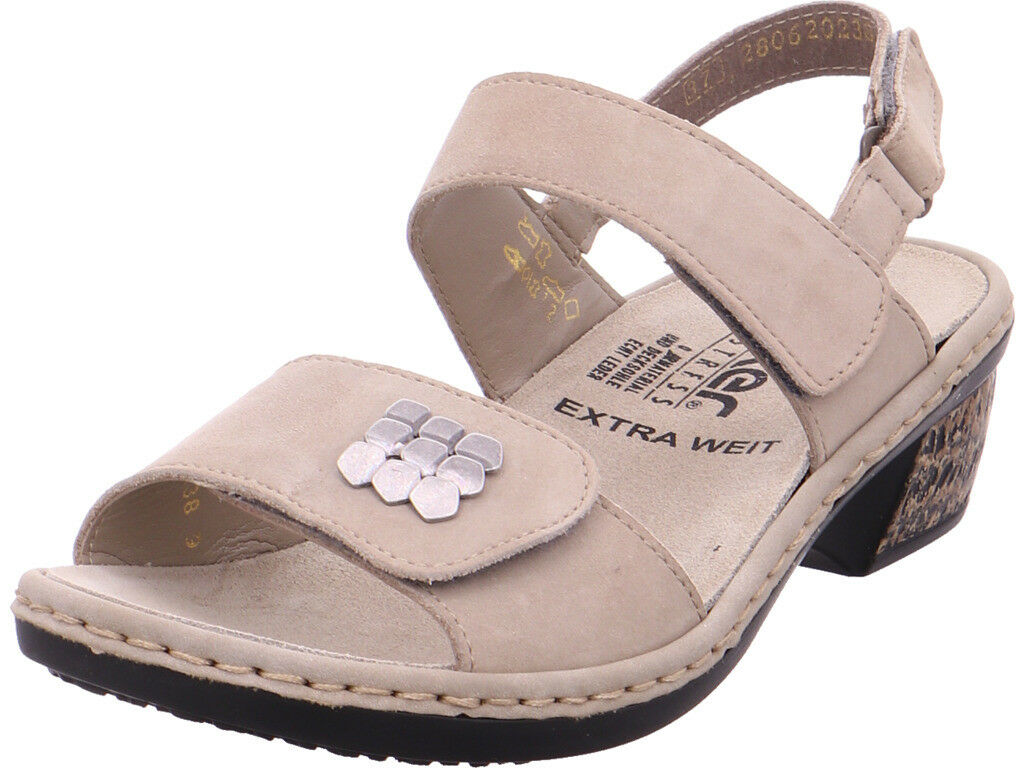 Rieker Damen  Sandalee Sandaleette Sonstige