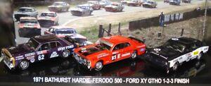 1-64-BATHURST-1971-WINNERS-SET-FORD-1-2-3-NEW