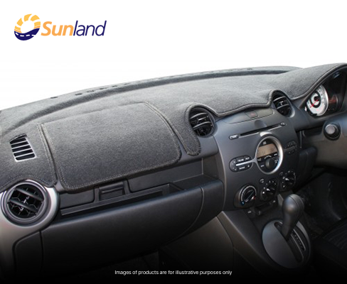 Sunland Dashmat fits FORD RANGER (PX - 10/11 to 6/15) - Charcoal
