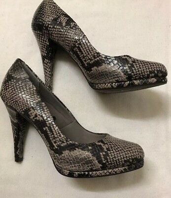 M/&S Court Shoes Black Sequinned with Insolia