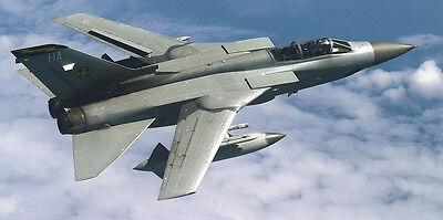 Panavia Tornado GR4 Multirole Fighter Wooden Desktop Model.