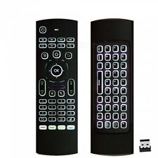 Wireless Fly Air Mouse Keyboard Remote For Android PC Smart TV Box Back Light
