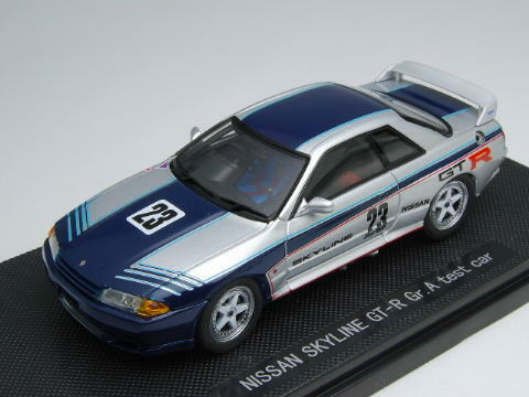 Ebbro 1:43 Skyline GT-R R32 Gr. A Test Car #23 from Japan