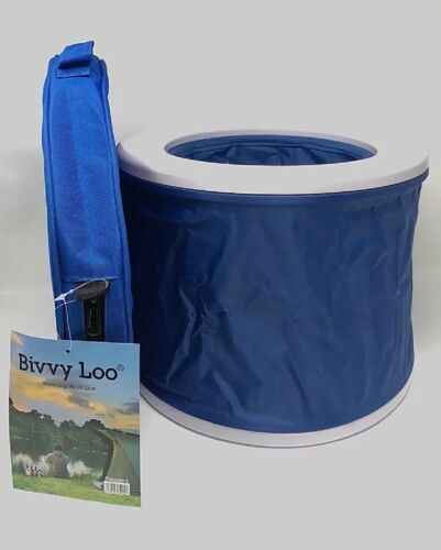 Carp Life Bivvy Loo Blue With Lid NEW Carp Fishing Bivvy Loo