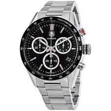 Tag Heuer Carrera Chronograph Black Dial Mens Watch CV1A10.BA0799