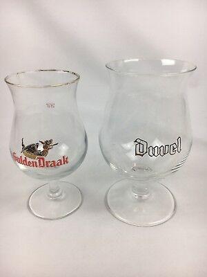 Duvel Tulip Belgian Beer Glass Set of 2 Ritzenhoff
