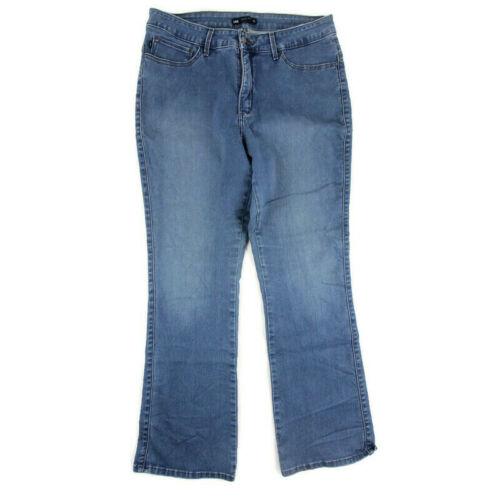 Lee Platinum Label Easy Fit Crop Blue Denim