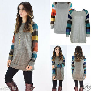 Fashion-Women-Ladies-Long-Sleeve-Shirt-Casual-Blouse-Loose-Cotton-Tops-Shirts