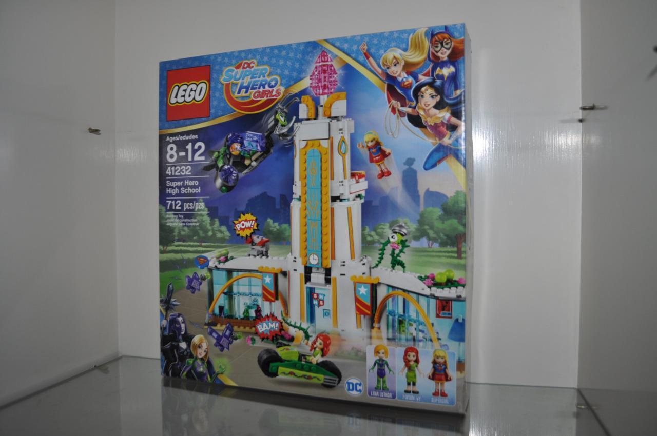 LEGO DC Super Hero flickor Super Hero High School 41232 medeltid 8 -12 Pieces 712 NIB