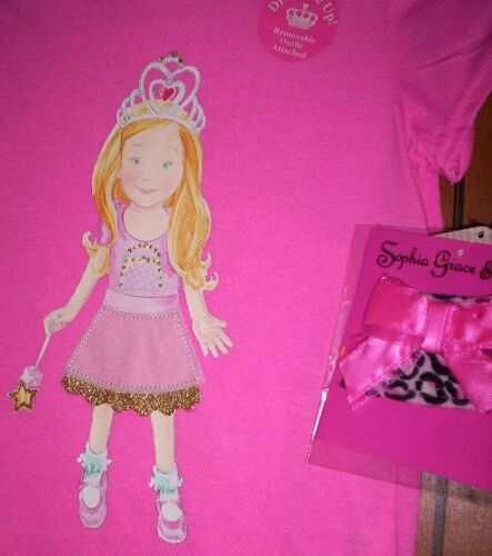 Sofia Grace and Rosie Shirt Girl/'s size 7//8 ROSIE NeW Removable Skirt Decoration