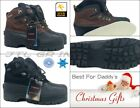New Authentic Kingshow Men's 1280 Winter Snow Boots Shoes Leather Waterproof